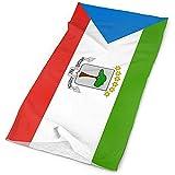 Oushengmaoyi, copricapo con bandiera della Guinea equatoriale, fascia da uomo e donna, fascia magica per la testa, sciarpa, bandana, copricapo in poliestere con cappuccio e cappuccio