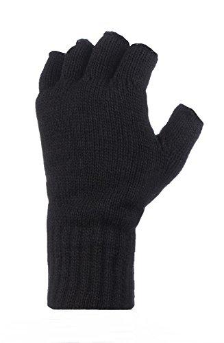 Heat Holders Mitaines thermiques pour l'hiver 2,3 TOG Noir