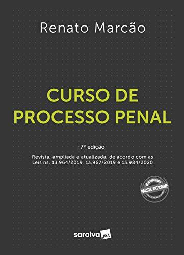 Curso de Processo Penal - 7 ª Edição 2021