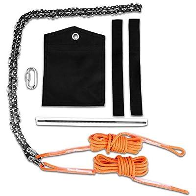Hand Rope Saw Chain Saw, 48 Inch High Reach Tre...