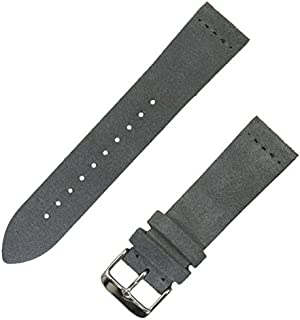 Suede Leather Watchband | 18mm, 20mm & 22mm | Available in 8 Colors