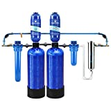 Aquasana Rhino Whole House Water Filtration System (Well Water plus Water Descaler + UV)