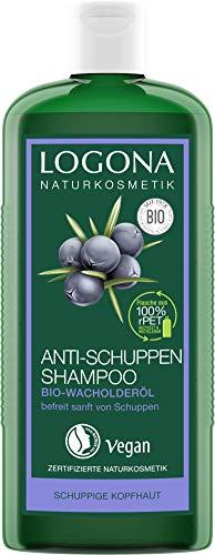 LOGONA natuurlijke cosmetica anti-roos shampoo biologische jeneverbes-olie 250ml