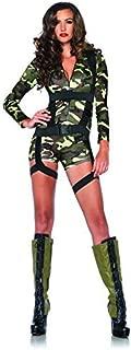 Leg Avenue Goin' Commando Costume (L, Camo) by Leg Avenue