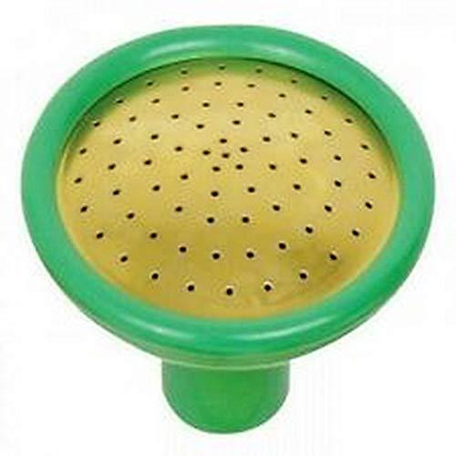 Haws - Cabezal de plástico para regadera con spray fino (Tamaño Único) (Verde/Dorado)