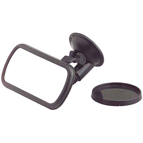 KRS - SP1 - Convexer toter Winkel Spiegel, iMotion Beifahrer Rückspiegel mit verstellbarem Hals, Saugfuß Kleiner Rückspiegel, Innenspiegel als Zusatz-Spiegel mit Schwanenhals Zusatzspiegel Konvex - Panoramaspiegel
