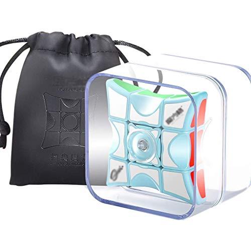Mágico Cube Dedo Cubo Dedo Gyro 1x3x3 Velocidad Mágica Cubo Dedo Dedo Decomusiones Artifact Niños Puzzles Juguetes Navidad Cumpleaños Regalo Principiante Blue