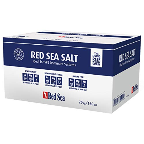 Red Sea Marine Salt - 20 kg / 160 gal (Box)