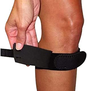Rolyan Universal Strap with Pressure Pad, Universal Size Knee Straps for Reducing Tension of the Patella Tendon, Compression Knee Brace, Strap Support Helps Relieve Pain, Tennis Elbow, & Tendonitis