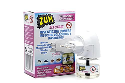 Zum Insecticida Eléctrico Insectos Voladores y Rastreros 33 ml