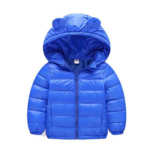 Guy Eugendssg Infant Coat Autumn Winter Baby Jackets for Baby Boys Jacket Kids Warm Outerwear Coats Blue2 12M