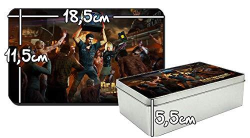 MasTazas Dead Rising 3 C Metalldose aus Zinn Metal Tin Box