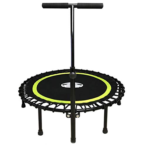 Adjustable Stabilizer Bar - Fits All Fitness Trampolines - Grippable & Cushy Foam Handles - Easy Assembly, Max Load 330 lbs (Color : Green)