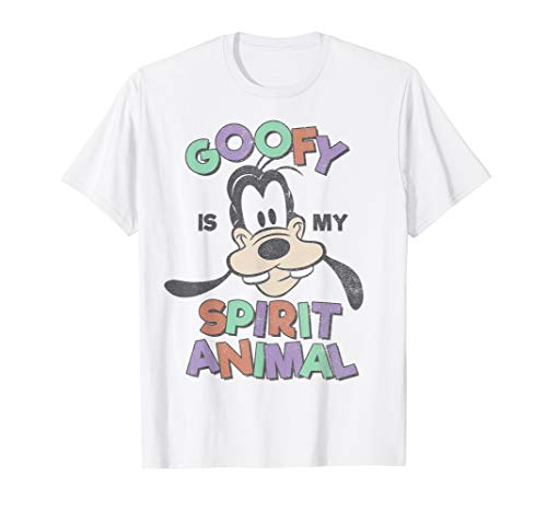 Disney Mickey And Friends Goofy Is My Spirit Animal T-Shirt