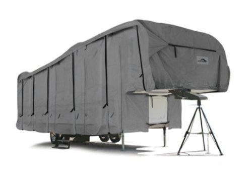 Camco 45758 40' ULTRAGuard 5th Wheel Cover (126'HF x 114'HR x 102'W), Grey