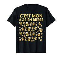 Achètez ce drôle 50 Ans Bières Anniversaire T-Shirt comme cadeau kit d'anniversaire humour 2020 pour père, mère, oncle, tante, frère, soeur, amis etc. Mettez cette idée de cadeau déco mignon pour un joyeux 50 anniversaire et fête en famille! Ce super...