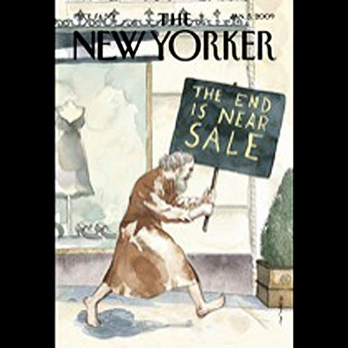 The New Yorker, January 5th, 2008 (Patricia Marx, Jonathan Harr, Kate Julian) copertina