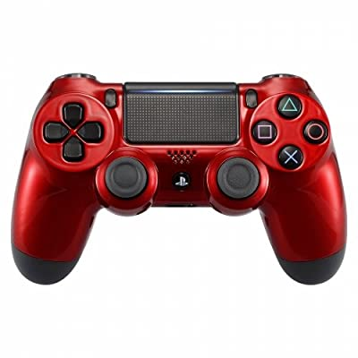 Vampire Red PS4 PRO Rapid Fire Custom Modded Controller 40 Mods for All Major Shooter Games BO4 & More (CUH-ZCT2U) …