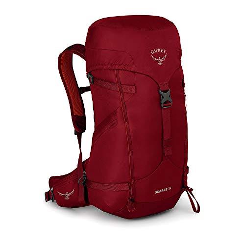Osprey Skarab 34 – Sac de randonnée homme – Mystic Red O/S