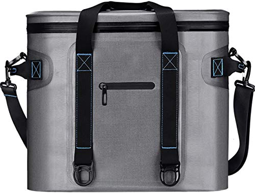 Homitt 30 Can Soft Cooler, Large Cooler Bag with Heavy Duty Leakproof TPU Material and Closed-Cell Foam, Perfect Car Portable Cooler for Lunch, BBQ, Camping, Picnic