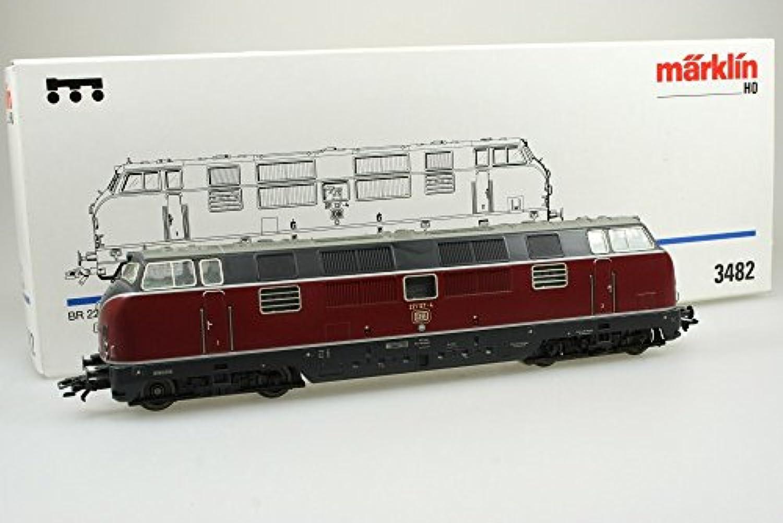 Mrklin 3482 Diesellok Br. 221 127-4 der DB in Originalverpackung