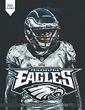 2022 Calendar: Philadelphia Eagles Calendar 8.5x11 plus 6 months bonus with large grid for scheduling and organizing