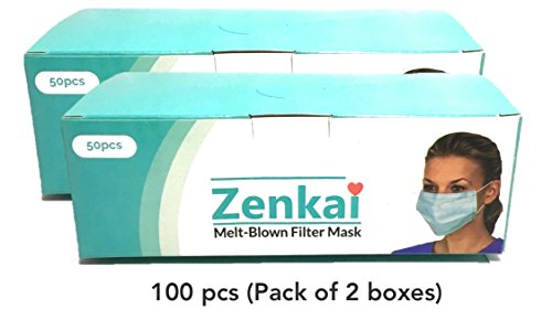 zenkai premium disposable active carbon face mask