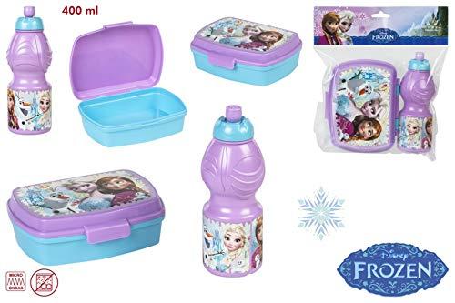ColorBaby Set SANDWICHERA + Botella 400ML - Frozen (76834)