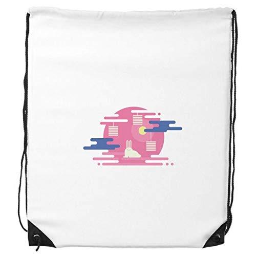 DIYthinker Bunte Abstrakte Wolke Laterne Muster-Rucksack Einkaufssporttaschen Geschenk