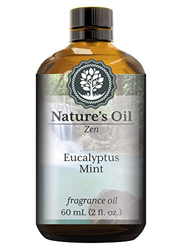 Eucalyptus Mint Fragrance Oil (60ml) For Diffusers, Soap Making, Candles, Lotion, Home Scents, Linen Spray, Bath Bombs, Slime