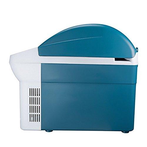 L&Z Réfrigérateur De La Voiture 8.5L Chaud Et Froid Mini Réfrigérateur Électronique De Réfrigérateur
