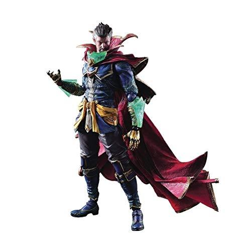 siyushop Variante Play Arts Kai Doctor Strange Action Figure - Heroes Action Figure - Dotato di Armi Ed Eroi Accessori Effetti Speciali - 28 Cm (Versione Non Originale)