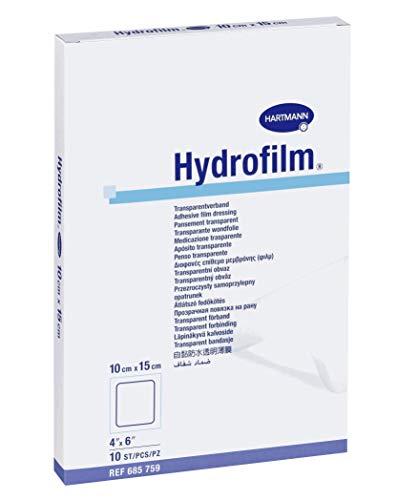 Hydrofilm HYD704B ADH Wundkompresse, 10 x 15 cm, 10 Stück
