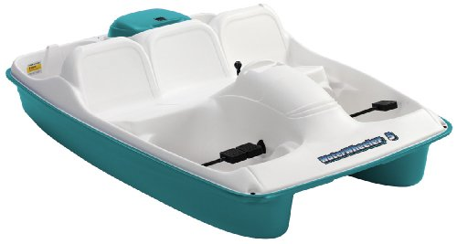 paddle boat or pedal boats KL Industries Water Wheeler 5 Person Pedal Boat