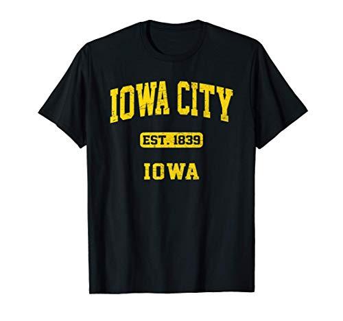 Iowa City Iowa IA vintage University & College Style T-Shirt