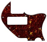 Fits Tele Merle Haggard F Hole Thinline P90 Style Guitar Pickguard (4 Ply Red Tortoise)