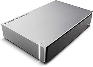 LaCie Porsche Design - Disco duro externo de 3TB (USB 3.1 Type-C, Desktop, 3.5'), gris claro