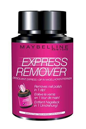 Maybelline New York Express Manucure - Dissolvants vernis - Dissolvant Express Sans Acétone