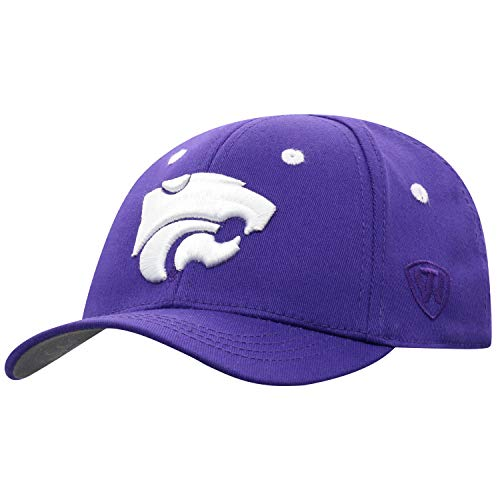 Top of the World Kansas State Wildcats Infant One Fit Infant Toddler Team Color Primary Icon Hat, One Fit