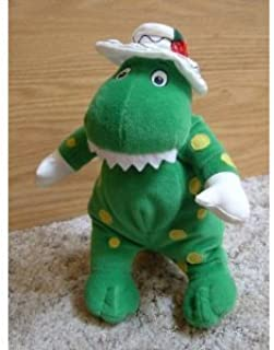 "The Wiggles Dorothy the Dinosaur Plush (7"")"