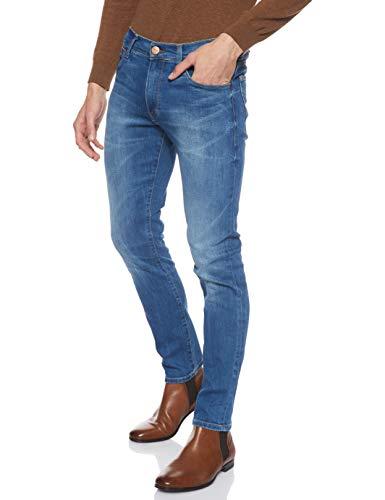 Wrangler Larston, Jeans, Uomo, Blu (Far Green 029), W40/L34
