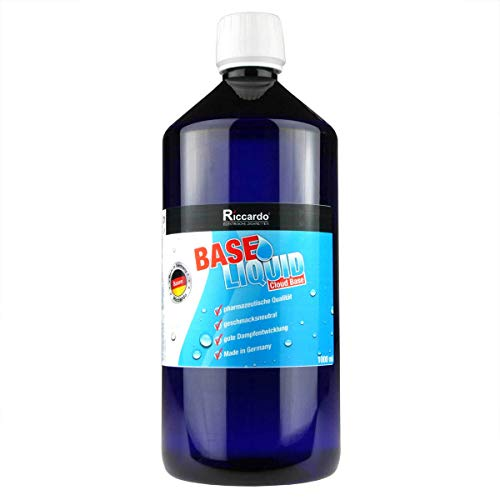 Riccardo Basisliquid Cloud Base, 70% VG/30% PG, Base Liquid 0,0 mg Nikotin, 1000 ml