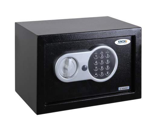 KNOXSAFE KS0KP1601E KNOXPRO 1, professionele kluis voor waardevolle voorwerpen, anti-bounce veiligheidsslot, zwart, 20 x 31 x 20 cm (L x B x H)