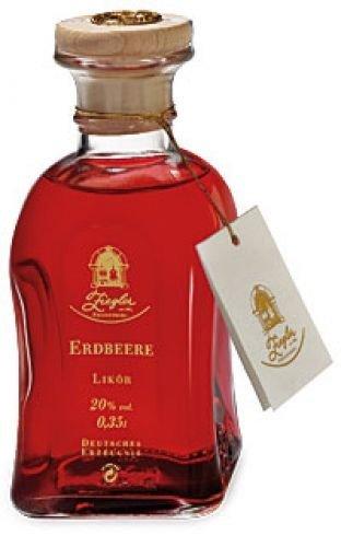Brennerei Ziegler Erdbeere (Likör) - 0,35 Liter, 1er Pack (1 x 350 ml)