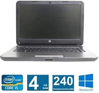 Notebook HP 240 G3 I5 4° Geração 4GB 240SSD
