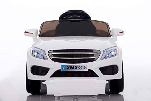 Babycar Auto per Bambini Macchina Elettrica per Bambini Babyfun ( Bianca ) Batteria 12 Volt con Telecomando 2.4 GHz Porte Apribili con MP3
