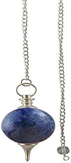 Aatm Reiki Energiezed Lapis Lazuli Healing Ball Pendulum Stone of EnlightenmentBalancingpeaceharmonyself-knowledgeself-awa...