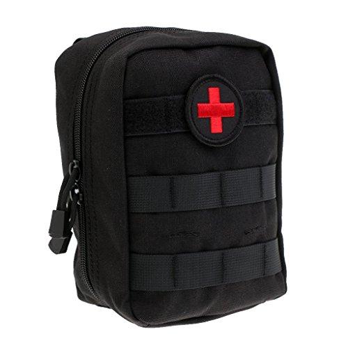 Pochette Tactique Molle Medical EMT EMS Pochette de premiers secours Sac utilitaire tactique Kit de Premier Secours Attache à Ceinture