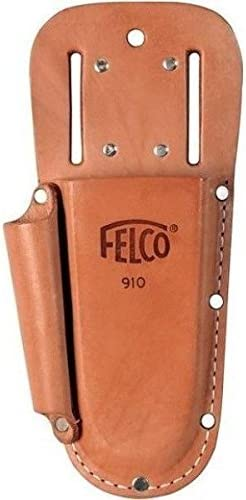 Felco Leather Holster F 910 Tool Pouch w Extra Slot for Pruning Shears or Construction Utility product image