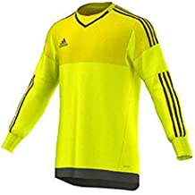 Adidas Top 15 Goalkeeper Mens Soccer Jersey S Bright Yellow-Branch
